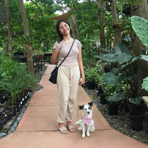 Penny and Hooman at Nimo Brew